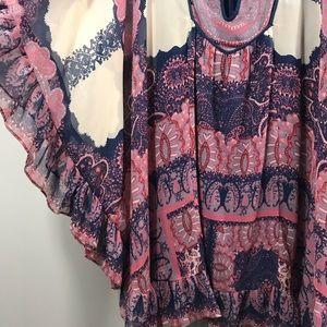 Free People Dresses - Free People Marla Dreams Mini Dress Tie Front